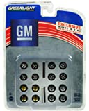 Greenlight 1:64 GM Wheel Tyre Pack 16 Wheels, 16 Tyres and 4 Axles+C47
