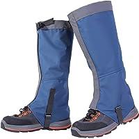 Unisexo Impermeable Resistente a Nieve Al Aire Libre Polainas Pierna Cubrir Envolturas Caminar para Alpinismo Caza Excursionismo