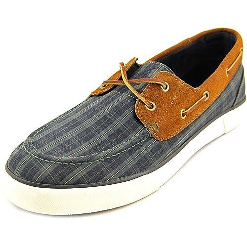 Polo Ralph Lauren Lander Hombre US 10.5 Verde Zapatos del Barco ...