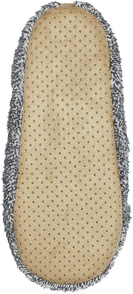 Ciabatte da Casa Comode e Morbide Misura 41-42 Suola Elastica Antiscivolo 2 Colori soxo Pantofole Peluche Pelliccia da Uomo