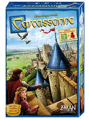 Review Carcassonne Board Game Standard