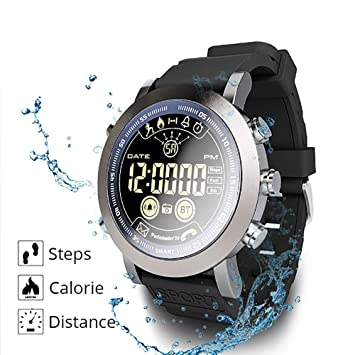 FGKING SmartWatch Reloj de Pulsera IP68 Impermeable con ...