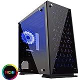 GameMax H605-TB Windowed MicroATX PC Gaming Case -Black