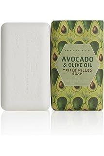Crabtree & Evelyn Patrimonio de aguacate y aceite de oliva Triple molido 158 g de jabón