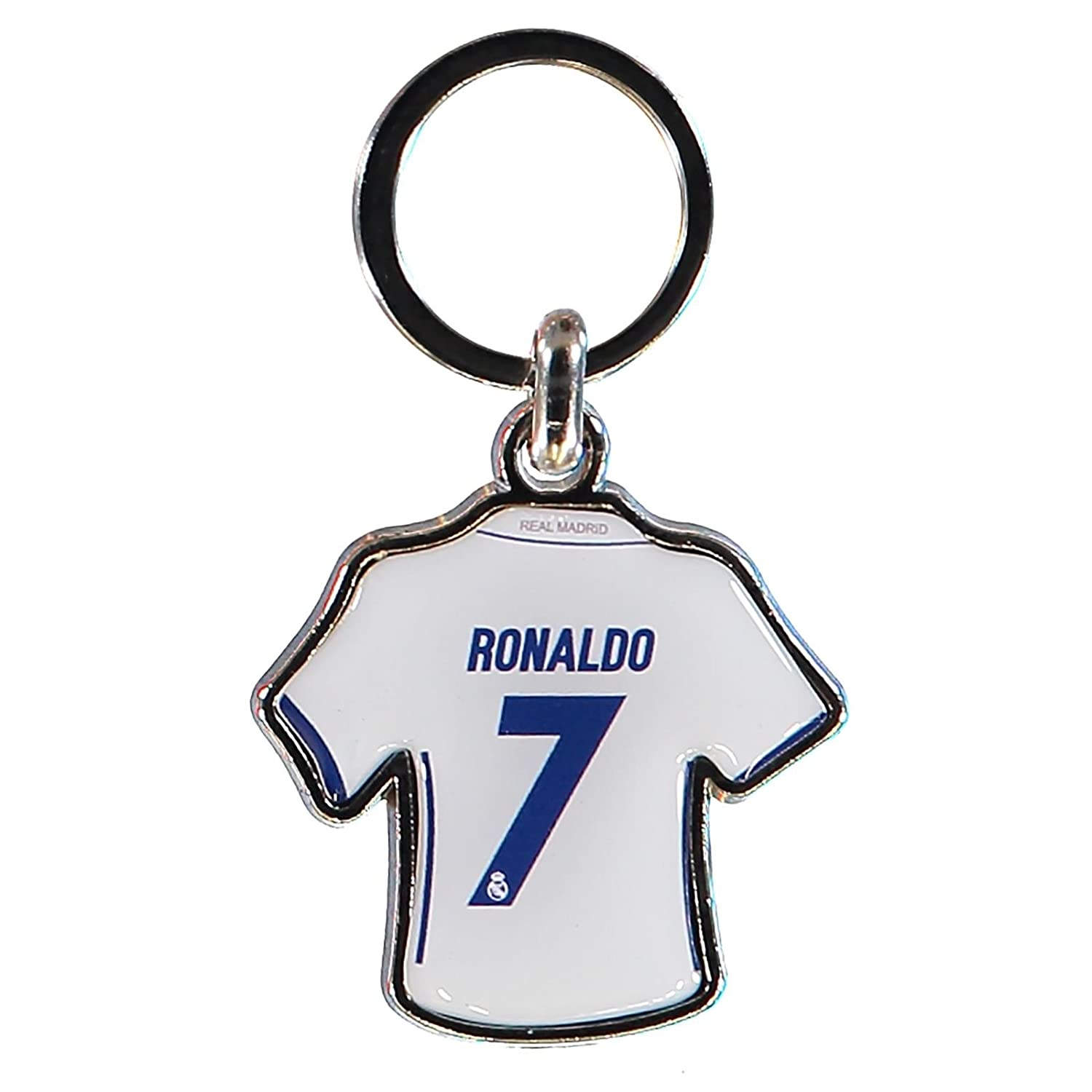 Real Madrid - Llavero Camiseta Ronaldo (Llavero): Amazon.es ...
