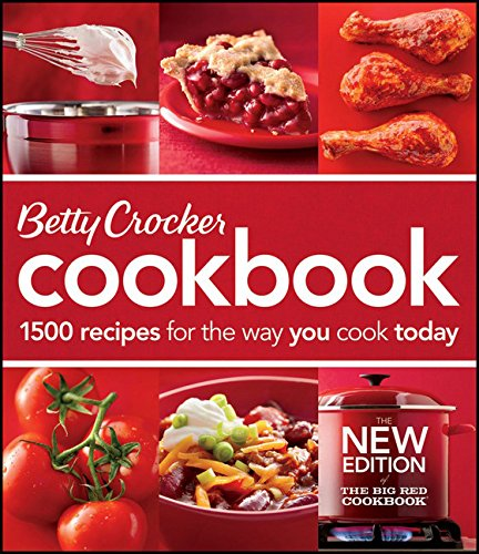 Betty Crocker Cookbook: 1500 Recipes for the Way You Cook Today]()