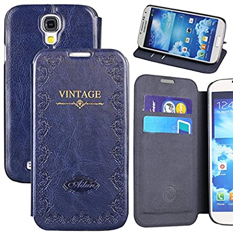 Galaxy S4 Case,by Ailun,Wallet Case,Samsung Galaxy i9500 Case,Card Holder Case,Stand Feature,Magic Book Case,Flip Cover (Galaxy S4 Cases With Card Holder)