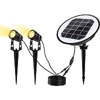 ECOWHO Solar Landscape LED Lights (Warm White)