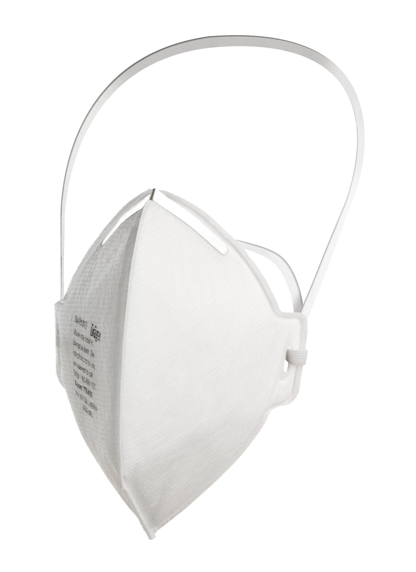 Dräger X-plore 1750 N95 Respirator mask | Non-valved, Folded, NIOSH-Certified | Against dust, Pollen and Other Particles | 20 piececs
