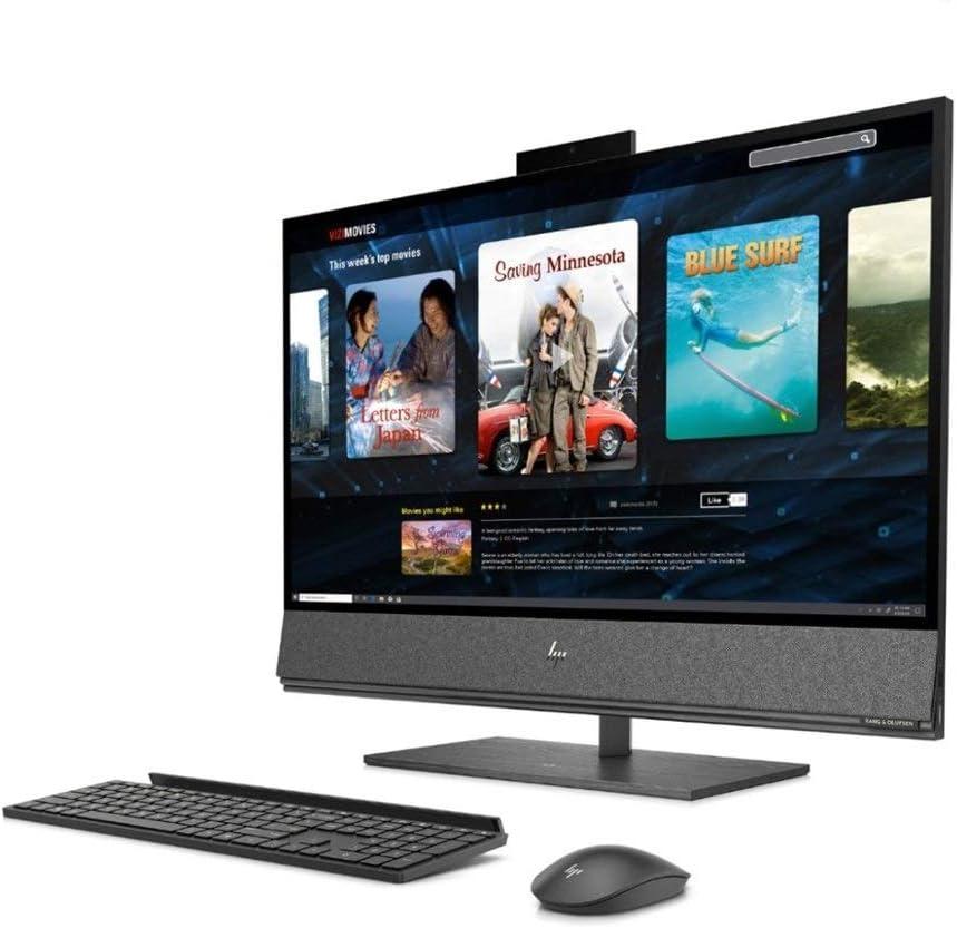 HP Envy 32 Desktop 1TB SSD 2TB HD 32GB RAM (Intel Core i7-10700K Processor 3.80Ghz Turbo Boost to 5.10GHz, 32 GB RAM, 1 TB SSD + 2TB HD, 32