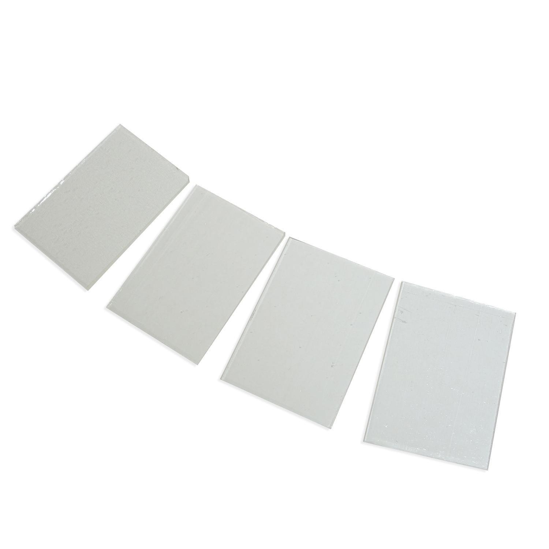 Fuseworks Clear Glass 4 Piece Assortment - 90 COE Diamond Tech Intl