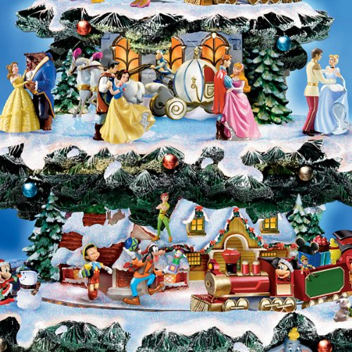 Disney Tabletop Christmas Tree: The Wonderful World Of Disney by The Bradford Exchange by Bradford Exchange (Image #3)