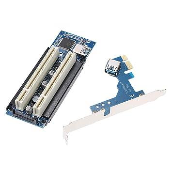 Tarjeta adaptadora PCI-E a PCI Tarjeta de Captura/Tarjeta ...