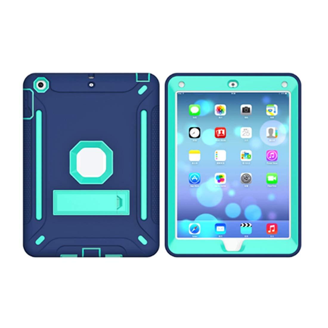 予約販売 KRPENRIO iPad 5ケース 頑丈 スリム 耐衝撃 5ケース 耐衝撃 シリコン 保護ケースカバー iPad 9.7インチiPad用 (ネイビーブルー/蛍光オレンジ) (カラー:ネイビーブルー サイズ:iPad2017) B07L89JZH7, ヤマトムラ:6521b18a --- a0267596.xsph.ru