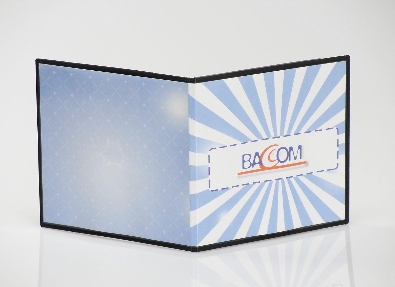 Qtecx 100 Cajas para 1 CD Slim PP Negro
