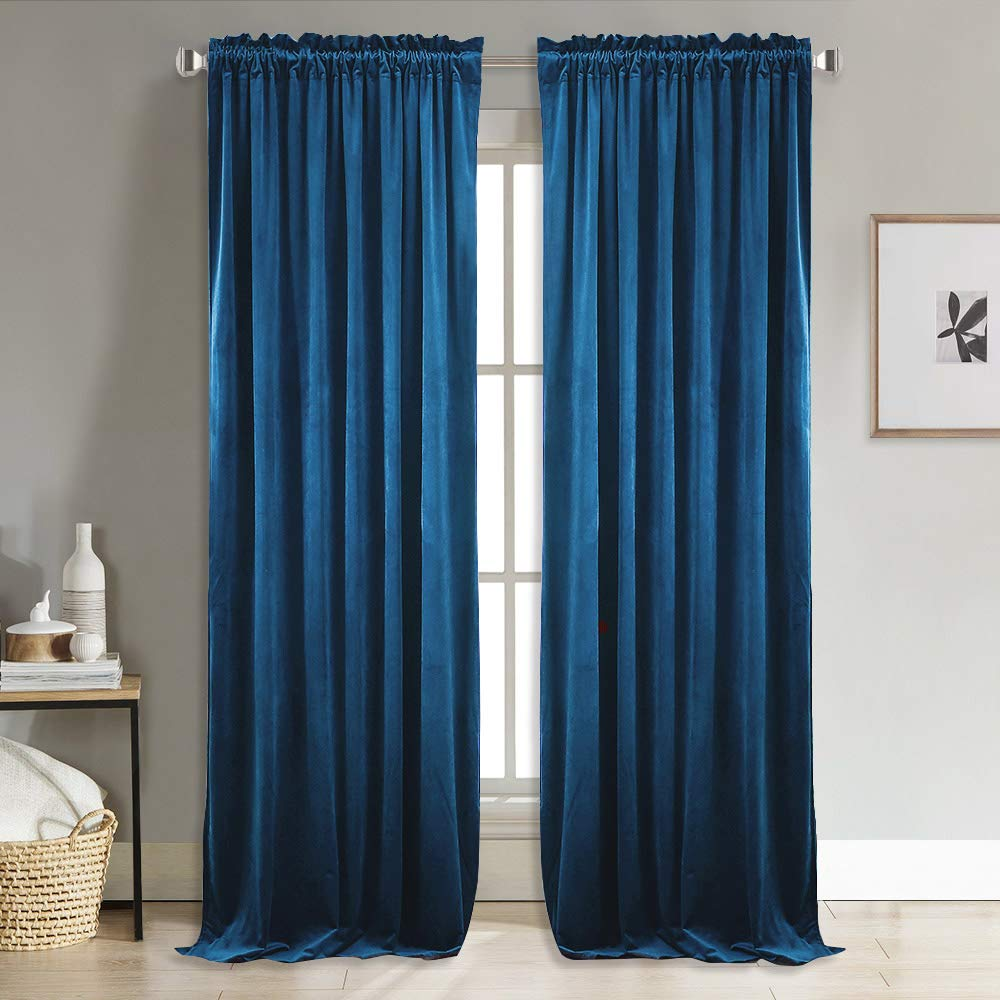 NICETOWN Home Decor Velvet Curtains