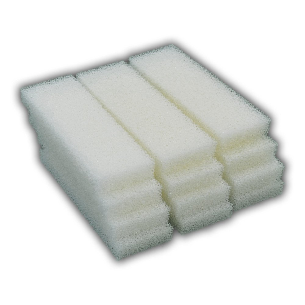 12 Foam Filter Pad Inserts for Hagen Fluval 204, 205, 206, 304, 305, 306 (A-222) by Zanyzap