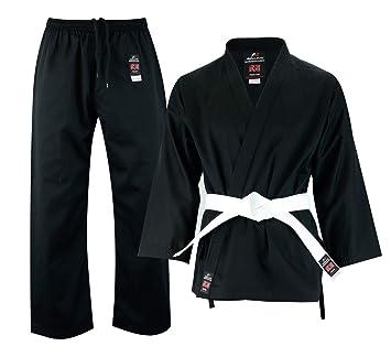 Malino Uniforme de Estudiante de Karate Negro para los ...
