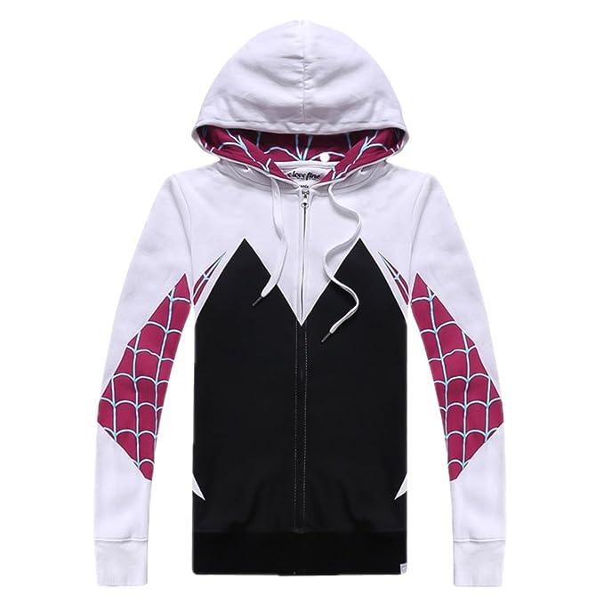 Amazon.com: alwoe Unisex adulto 3d Clothing Gwen Spider ...