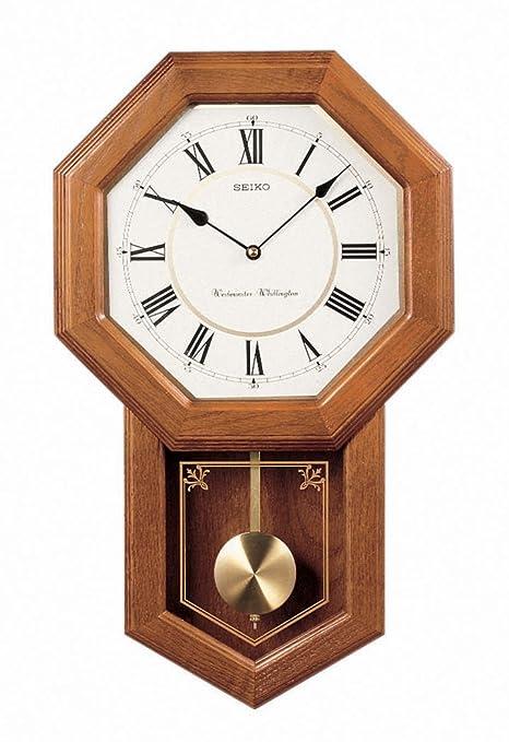 Amazon.com: Seiko - Reloj de pared con péndulo con ...