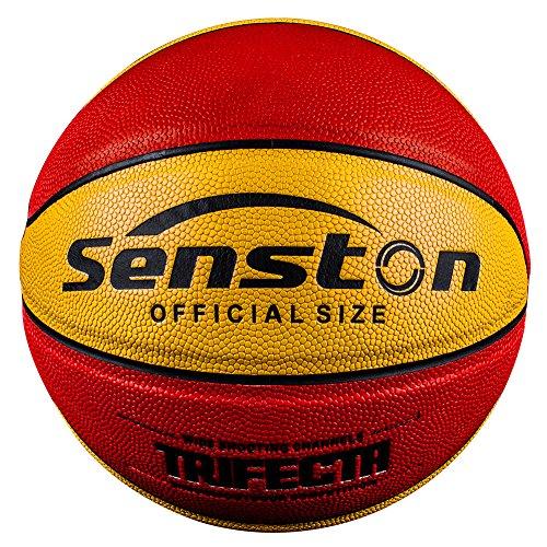 Senston 27.5 Junior Basketball for Kids and Children Oofficial Size 5 Indoor/Outdoor Basketball School Kids Basketball