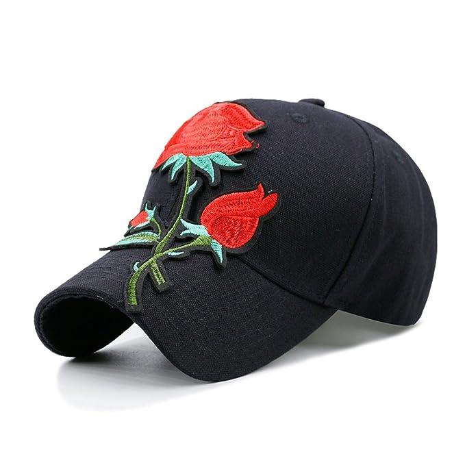 Gorra de béisbol de las señoras flores,patch,adornados y bordados,bloqueador solar