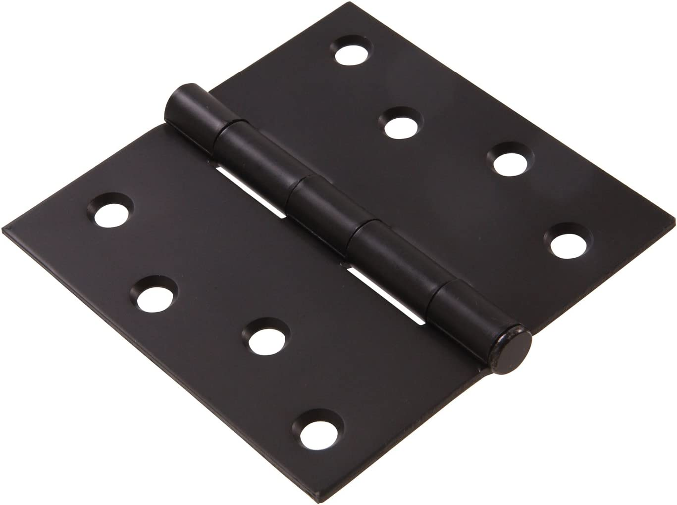 Hillman Hardware Essentials 852826 Residential Square Corner Door Hinges with Removable Pin Oil Rubbed Bronze 4