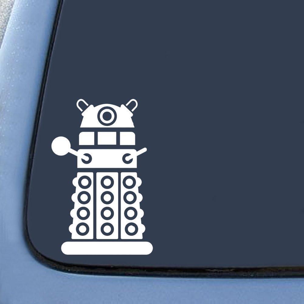 Keen151 Keen Commodities KEEN Dalek Sticker Decal Notebook Car Laptop 4 White