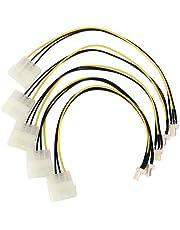 Cavetto 4-Pin Molex/IDE to 3-Pin per alimentazione ventola CPU
