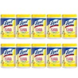 Lysol Disinfecting Wipes, Lemon & Lime Blossom, 1100ct (10X110ct)