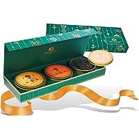 VAHDAM, juego de regalo de té surtido | 3 regalos de té, 75 porciones | Caja de presentación de lujo con premiada muestra de té | Té Negro, Té Verde, Té Chai | Mejores regalos de navidad