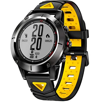 FWRSR IP68 Impermeable GPS Smart Watch Hombres Presión Arterial ...