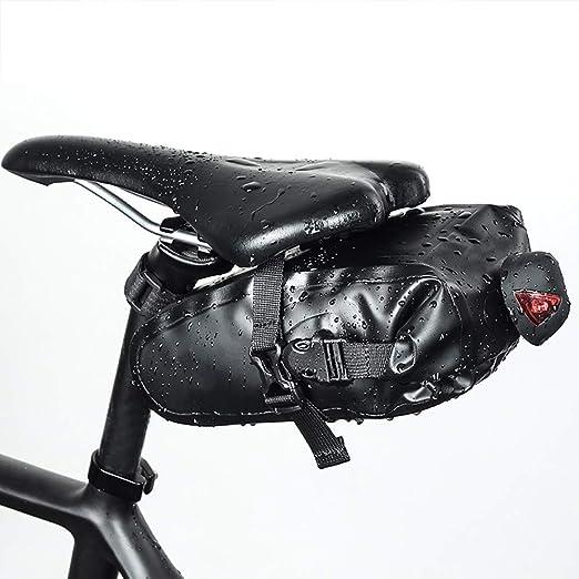 WHTBOX Bolsa Sillin Bicicleta Carreter,Bolsa Tija Sillin Bicicleta ...