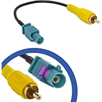 Cable Adaptador RCA Fakra Compatible con Mercedes Comand