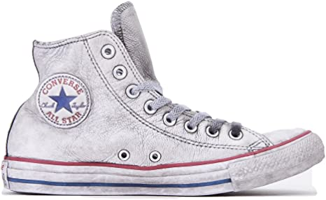 converse all star alte pelle uomo
