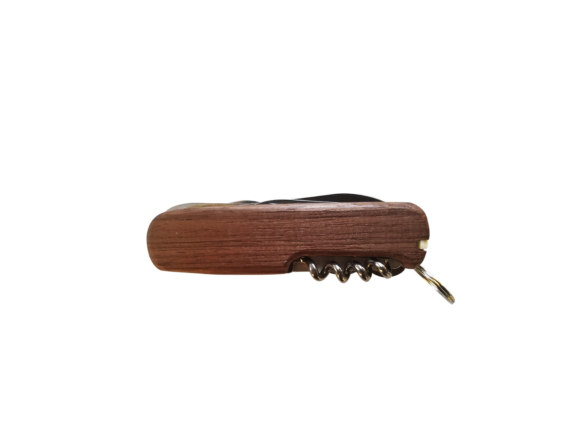 HOLLEY Pocket Knife Multi-tool MOD13A with Your Choice 4x Premium Wood Scales (Quarter Sawn Black Walnut in Picture) by Holley Knives (Image #6)
