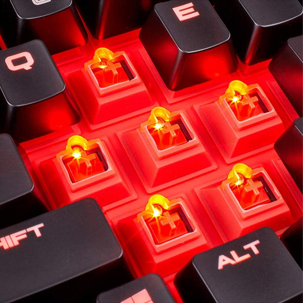 Yan Fei Backlit Mechanical Keyboard 104 Key Color : Red Black Green Axis Esports Game Dedicated Keyboard//Waterproof Splash Dust USB Interface Mechanical Keyboard Feeling Keyboard