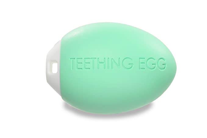 The Teething Egg Teether Mint Green Finally A Teething Toy That