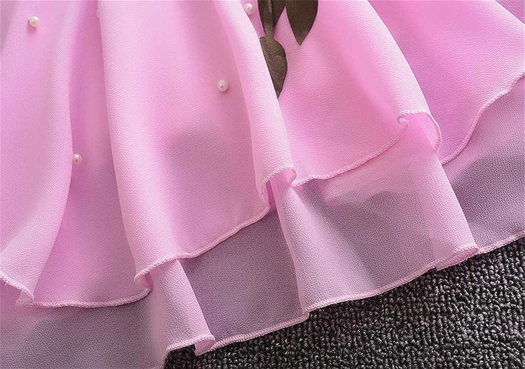 Homebaby Neonate del Bambino Abiti da Principessa Elegante Ragazze Senza Maniche Compleanno Vestito Estivo Festa Battesimo Abito da Cerimonia Nuziale Formali Gonna in Tulle