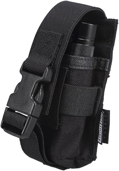 Flashlight bag Molle Holster Bag Carry Case Waterproof Torch 1000D Nylon