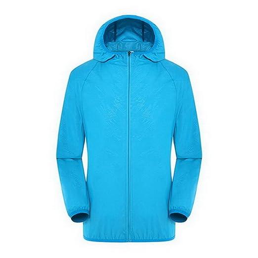 Amazon.com: YouzhiWan007 Sun Protective Raindrop Lines Women Jacket Coat New Spring Summer Ultra Light Windbreaker Girls Womens Thin Basic Jackets,AM033 Sky ...