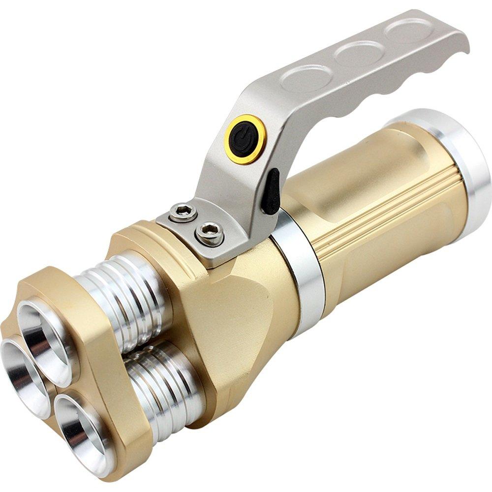 GLJJQMY LED-Lade-Licht Taschenlampe super helle Multi-Funktions-Portable Licht Taschenlampe