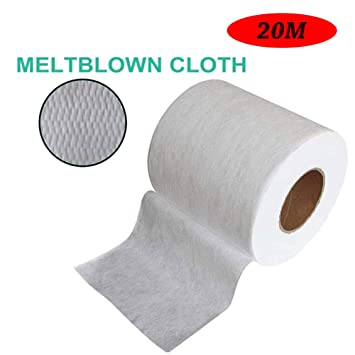 Non Woven Fabric Roll Meltblown Cloth Dusting Filters Paper For Mask Filtering Layer Application 10 20 50 100m Amazon In Home Kitchen