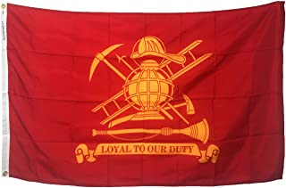product image for Gettysburg Flag Works 3x5' Firefighter (Loyal) All Weather Nylon for Outdoor Made in USA