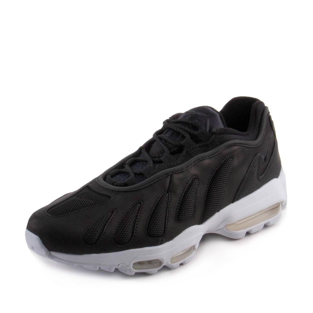 size 40 f052c f7d87 Amazon.com  Nike Mens Air Max 96 XX Black Leather Size 10.5  Fitness   Cross-Training
