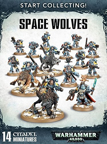Wrhammer 40k Start Collecting: Space Wolves by Warhammer