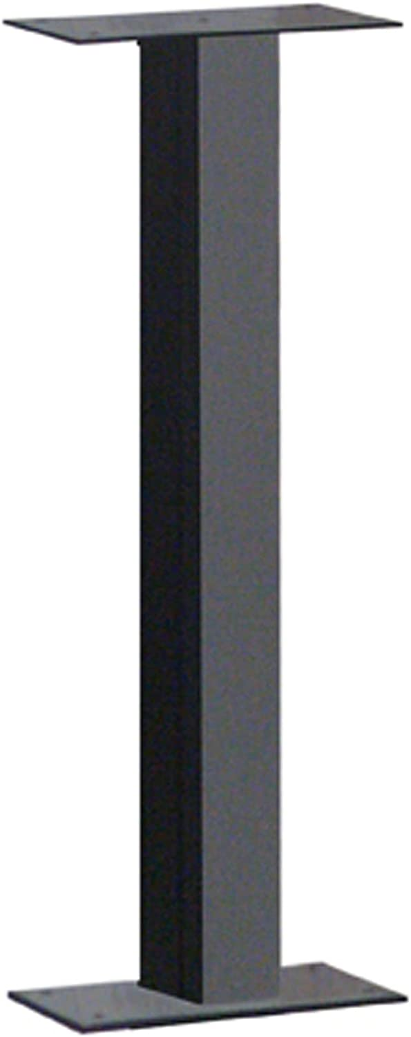 Architectural Mailboxes 5526B Surface Mount Mailbox Post, Black