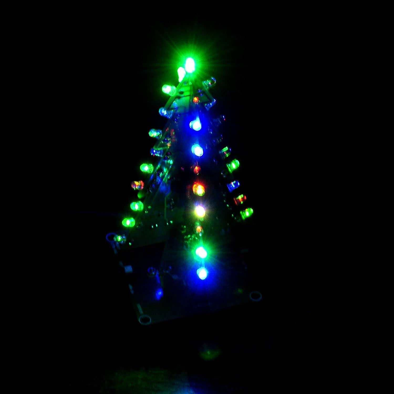 Gikfun 3d Xmas Tree Led Diy Kits Ek1697 Electronics Christmas Wiring Diagram Free Download Schematic
