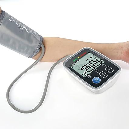 XIAOXINYUAN Elera Tensiometros Digital Monitor De Presión Arterial Del Brazo Superior Tonómetro Portátil Presión Arterial Esfigmomanómetro
