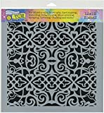 The Crafter's Workshop TCW781 Template Scrollwork, Multicolor